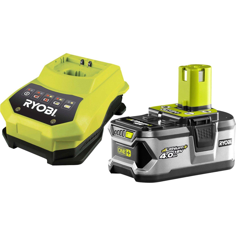 chargeur de batterie ryobi