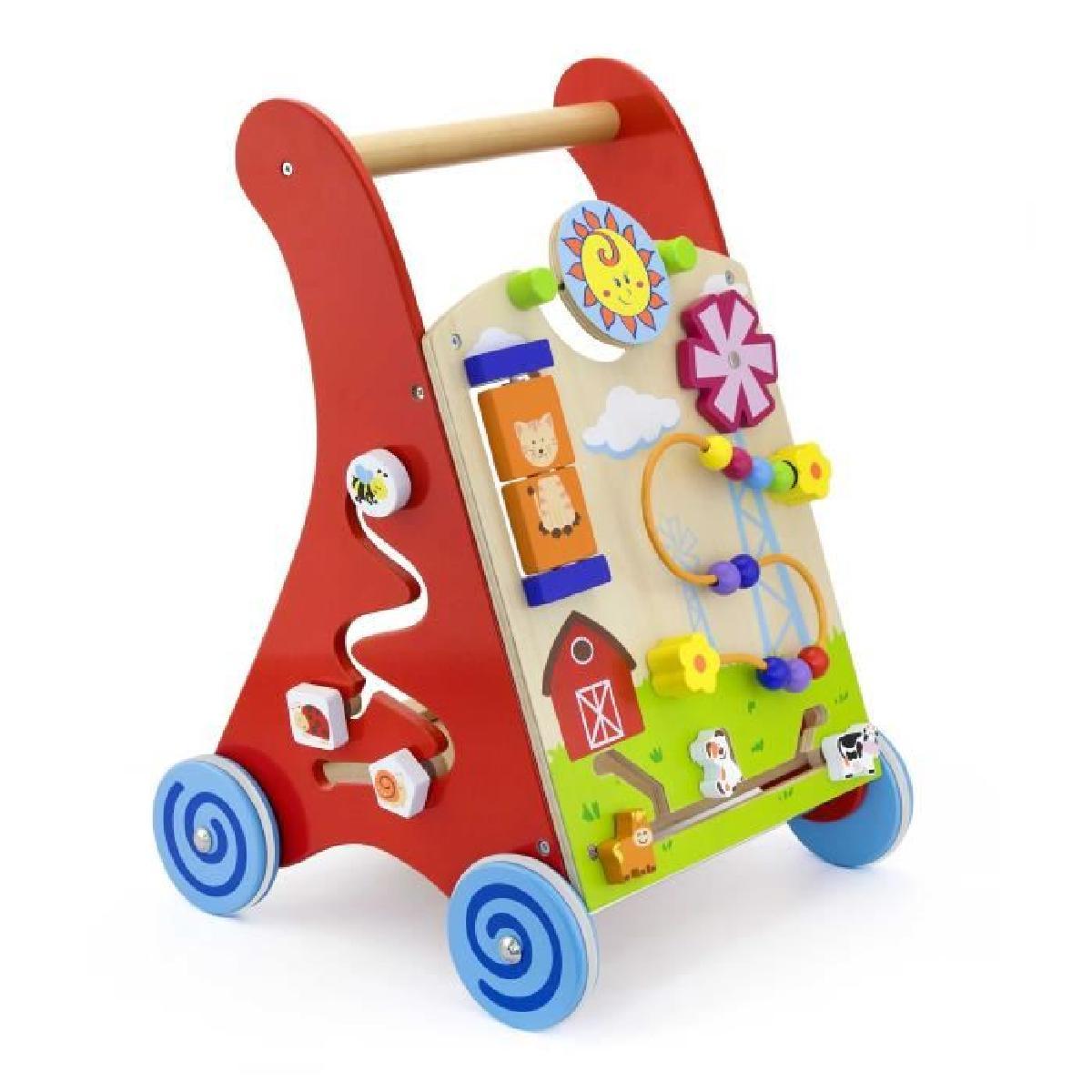 chariot pousseur bébé