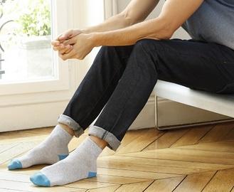 chaussettes courtes homme