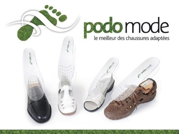 chaussure adaptée semelle orthopédique