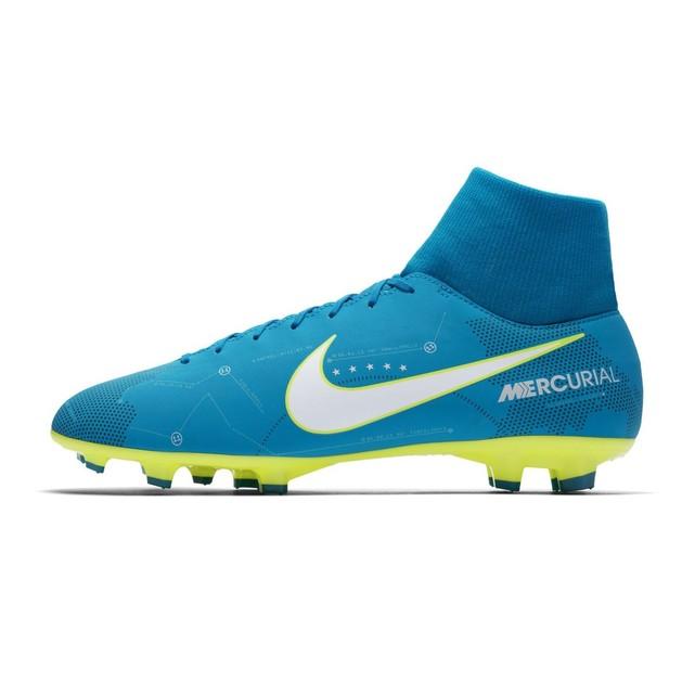 chaussure de foot bleu