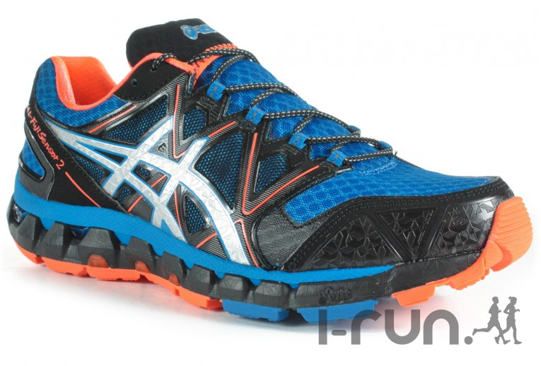 chaussure trail homme asics
