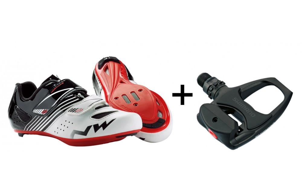 chaussures de vélo route