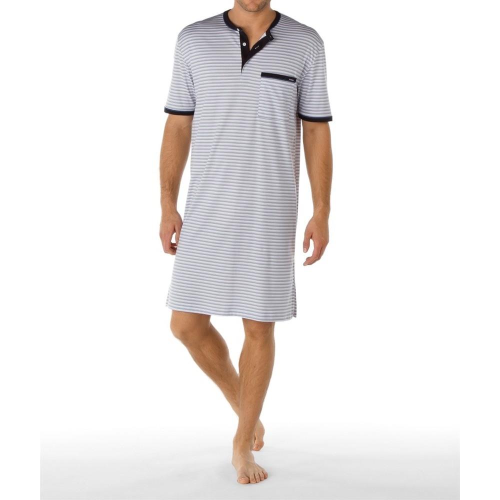 chemise de nuit homme manche courte