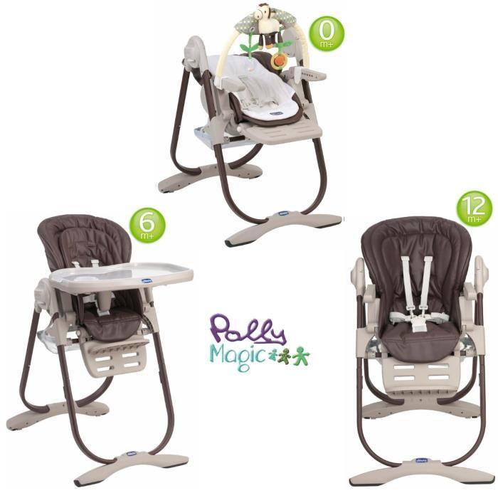 chicco 3 en 1 chaise haute