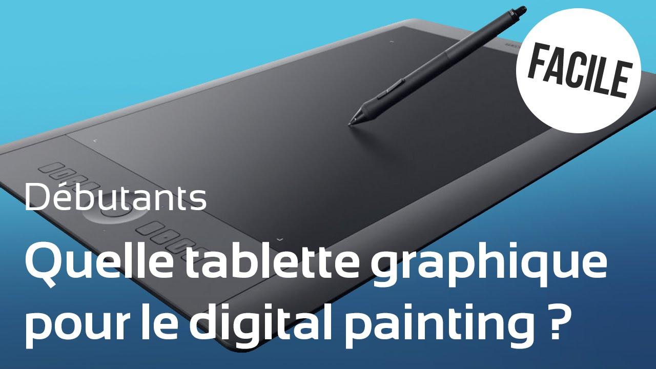 choisir une tablette graphique