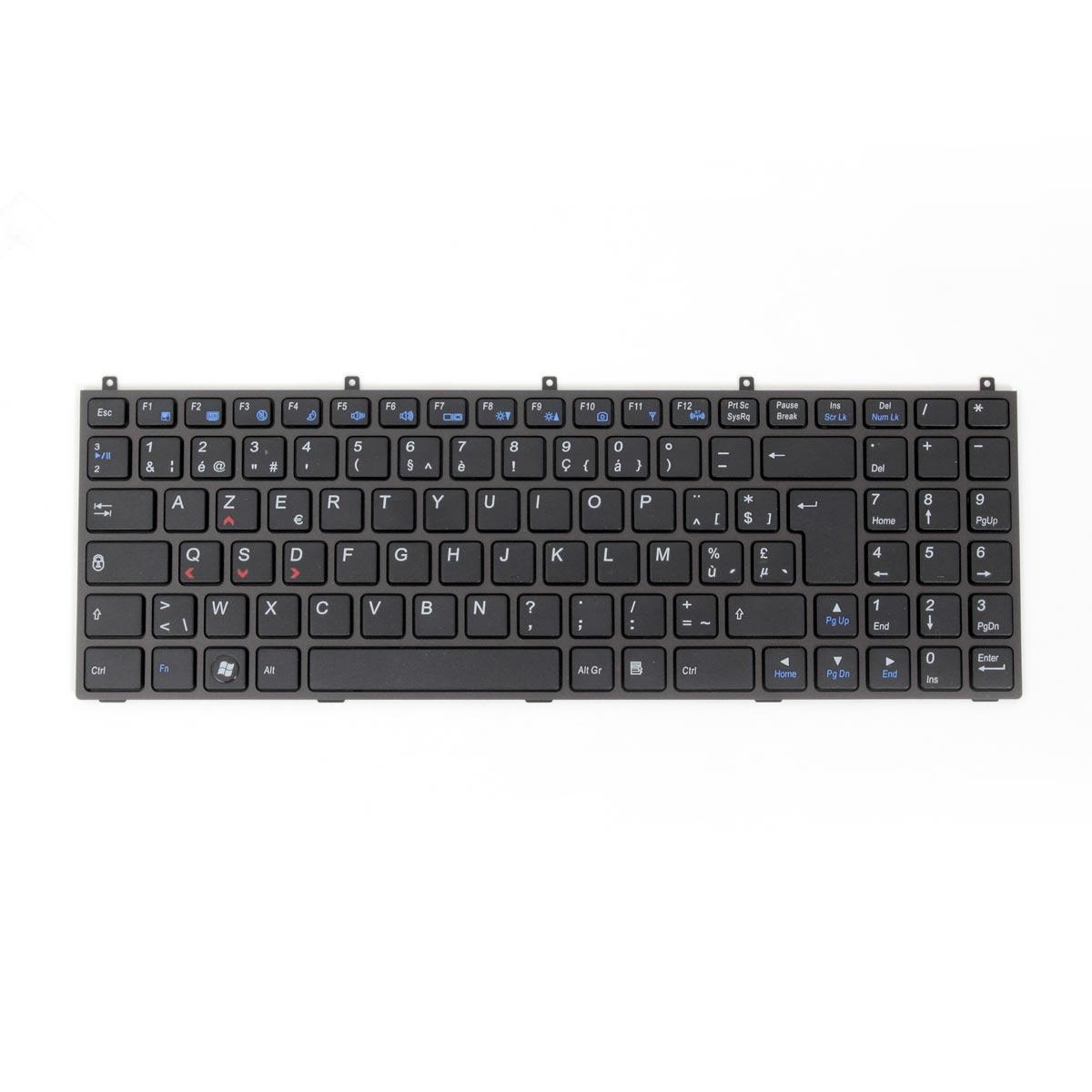 clavier de pc portable