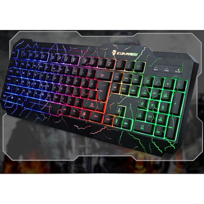 clavier gamer lumineux