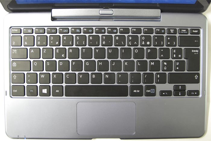 clavier samsung pc portable