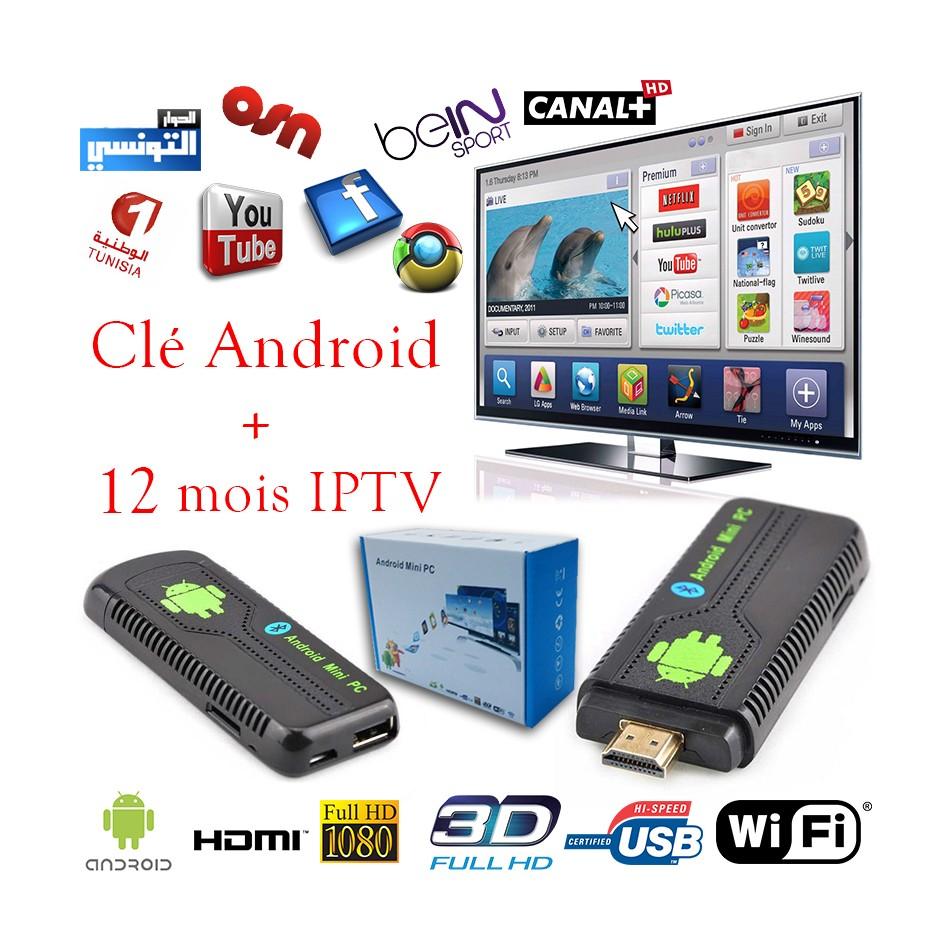 cle android tv