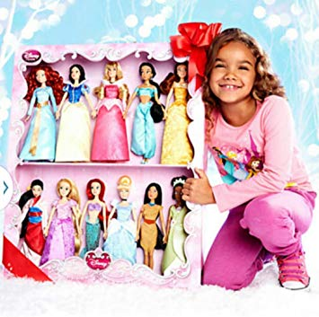 coffret 11 princesses disney
