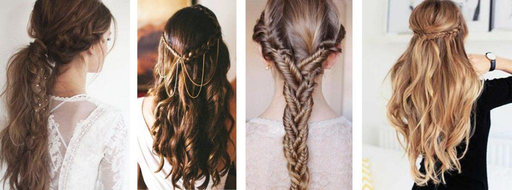 coiffer des cheveux longs