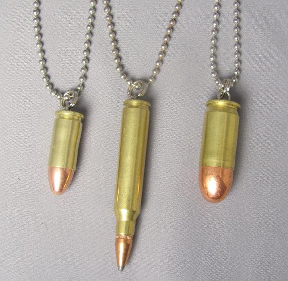 collier balle 9mm
