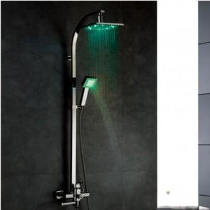 colonne de douche avec led