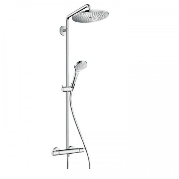 colonne douche thermostatique hansgrohe