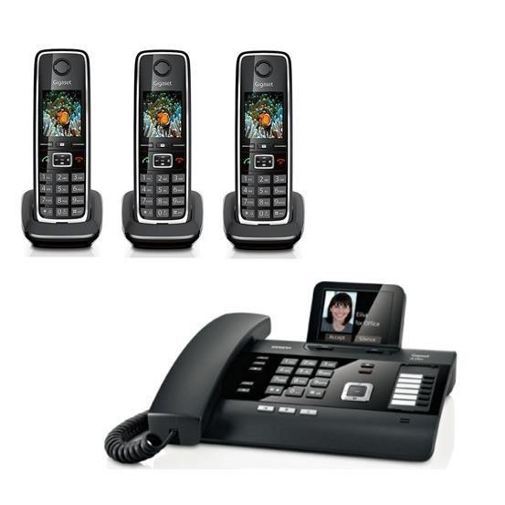 combiné téléphone fixe