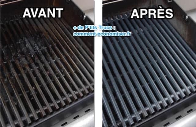 comment nettoyer une grille de barbecue