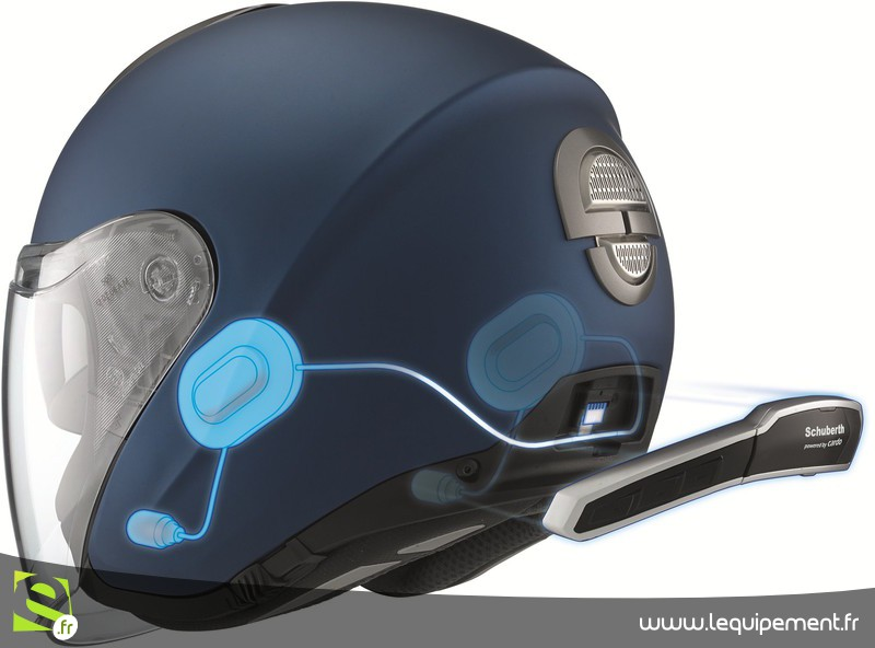 communication casque moto