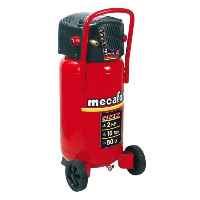 compresseur 50 l mecafer