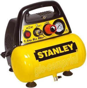 compresseur sans huile stanley