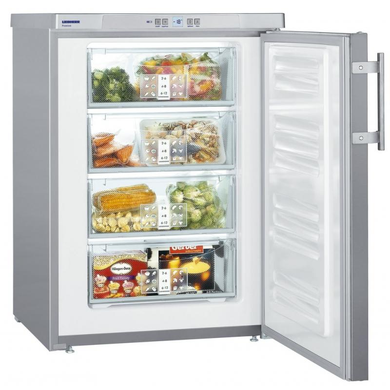 congelateur top inox